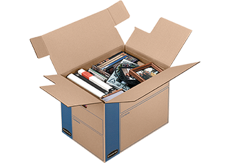Tape Free Moving Boxes Allow for Easy Packing and UnPacking